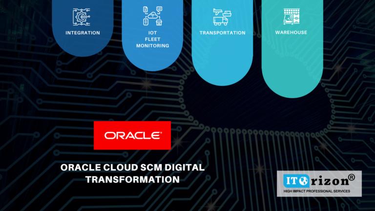 Oracle cloud SCM Digital Transformation