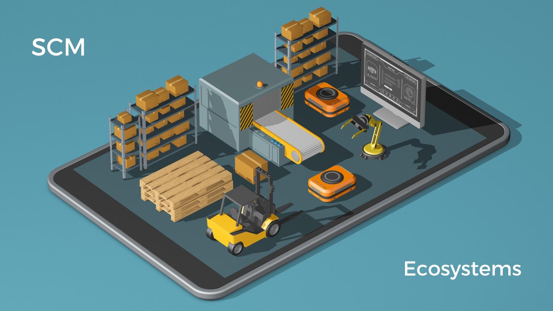 SCM, supply chain